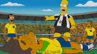 Los Simpson en Mundial. anticipa lesión de Neymar. thumbnail