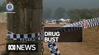 Large-scale meth lab hidden on rural property near Braidwood raided by police | ABC News