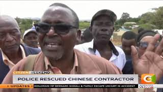 Kitui residents stops road construction row over compensation