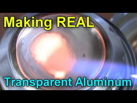How to make REAL Transparent Aluminium!