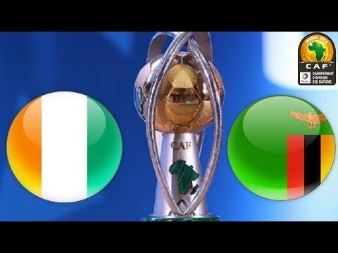 Ivory Coast vs Zambia  18/01/2018  African Nations Championship 2017/2018