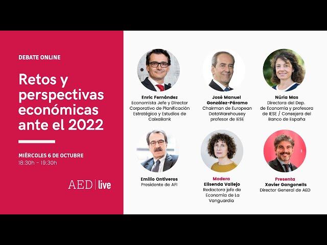 Debate Online_ Retos y perspectivas económicas ante el 2022