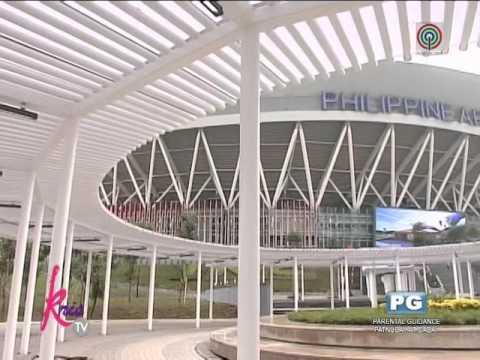 Kris TV features Philippine Arena Part 1 of 7