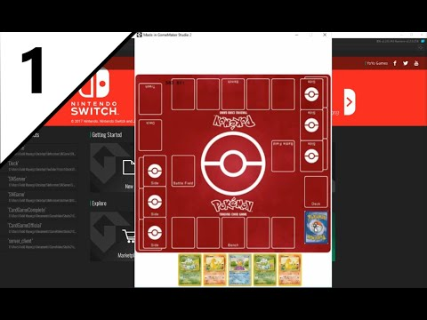 How To Make A Card Game In GameMaker Studio Tutorial Series (Pokemon The TCG)