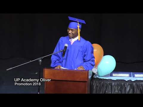 UP Academy Oliver 8th Grade Promotion 2018