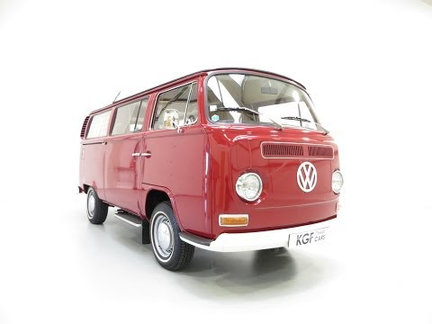 An Unrepeatable Type 2 Volkswagen Westfalia Campmobile with Only 12,769 Miles - SOLD!