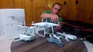 UNBOXING Drone Phantom 4 Advanced Plus DJI PT BR