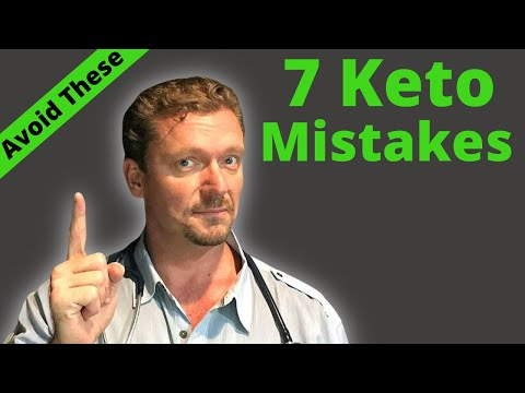 The 7 Biggest Keto Mistakes (Avoid these Pitfalls) 2020