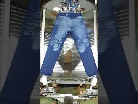 Denim Dry Process by Using Laser...Great innovation in Denim Washing...!!!