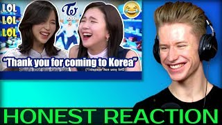 HONEST REACTION to People who made TWICE Crack up - Try not to laugh with TWICE