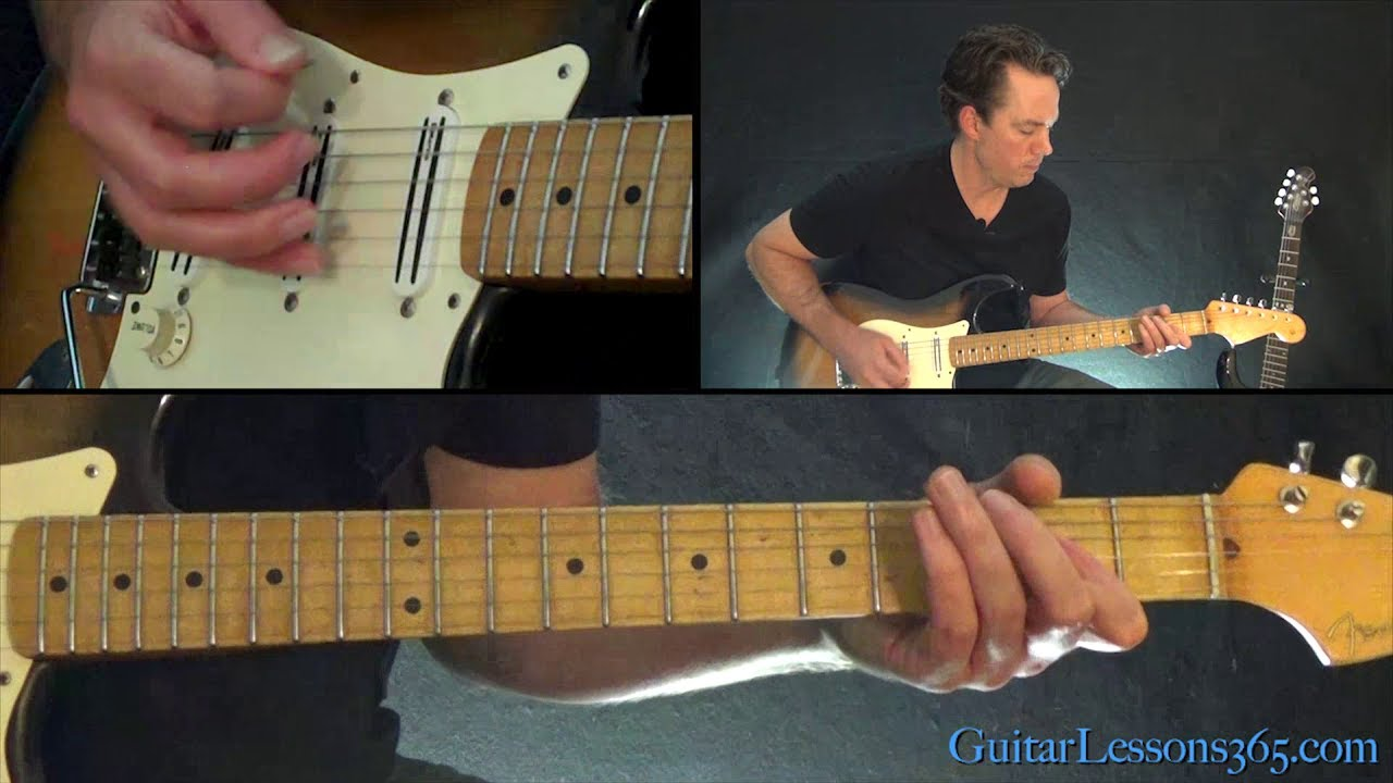 Band On The Run Guitar Lesson Full Song Paul Mccartney And Wings
