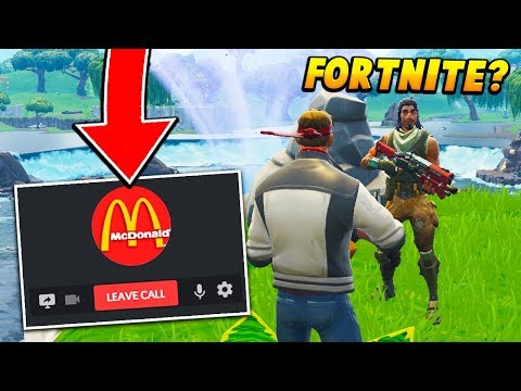 I Called MCDONALDS And Asked A EMPLOYEE If We Could Play FORTNITE.. (Fortnite Battle Royale)