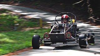 cross-kart-custom-mechanical-speedometer-install