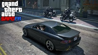 GTA SAPDFR - DOJ 54 - Motorcycle Cop Madness (Criminal)