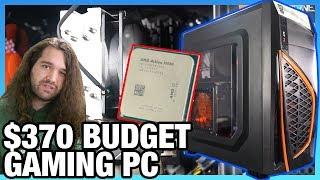 $370 Ultra-Budget Athlon 3000G Gaming PC Build: Benchmarks & Upgrades