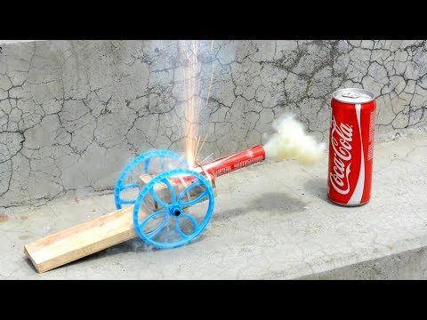 How to Make Powerful Cannon - Coca Cola DIY