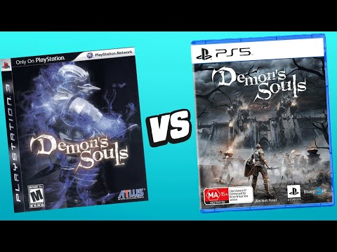 Demon's Souls PS5 Remake Vs. Original (Gameplay Comparison)