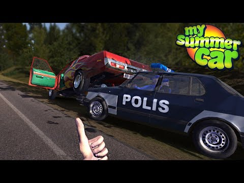 My Summer Car - POLICE BRUTALITY