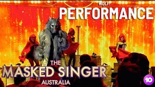 The Wolf Performs: Man! I Feel Like a Woman | Season 1 Ep 1 | The Masked Singer Australia