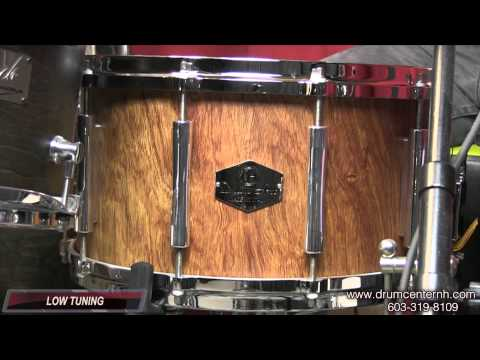 Video Demo: Drum Art Supreme Solid Shell Snare Drum 8x14