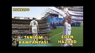 Madrid'teki Ronaldo ve Hazard Taraftarları!! 5 Fut