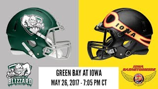 Week 15 | Green Bay Blizzard at Iowa Barnstormers