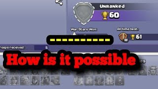 Biggest mysterious player in clash of clans. Invisible troops by cheif Rishav Raj