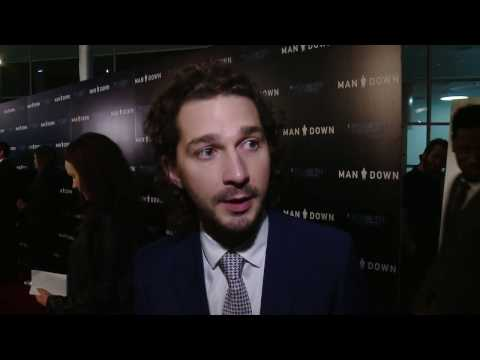 Man Down LA Premiere Shia LaBeouf Now Showing in theaters