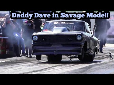 Daddy Dave In Savage Mode At The Midwest Promod Series