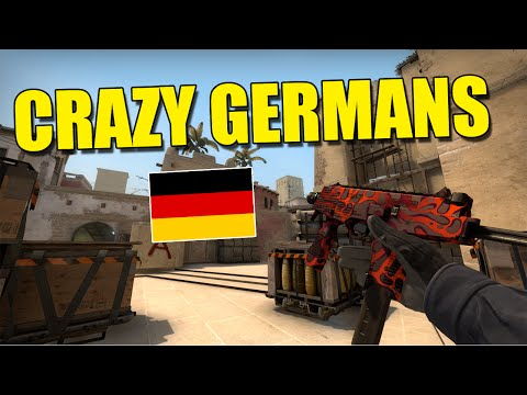 CS:GO: My Crazy German Team - Competitive Live Commentary