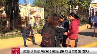 INICIAN UN NUEVO PROCESO A ESTUDIANTES POR LA TOMA DEL CAMPUS