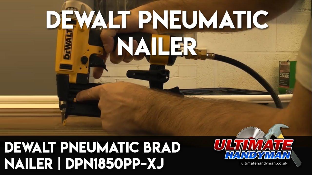 Dewalt pneumatic brad nailer | DPN1850PP-XJ - YouTube