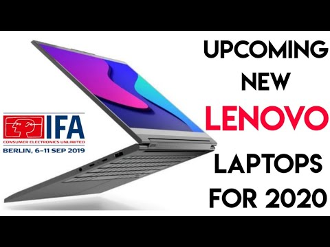 New Lenovo Laptops For 2020 Upcoming Lenovo Laptops Launched In Ifa 2019 In Berlin Youtube