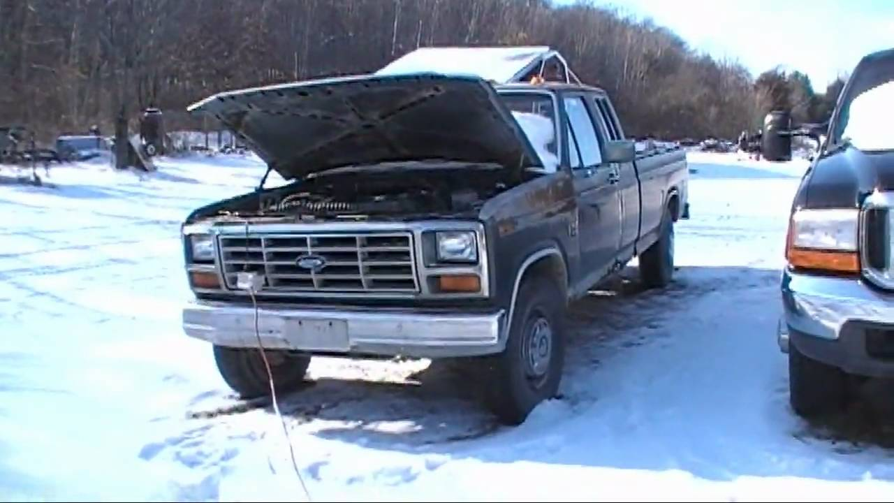 ford f250 diesel 1986 9l idi 86 cold start