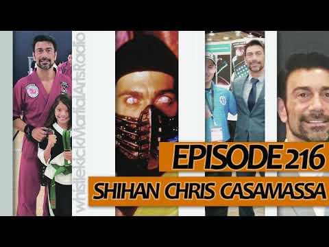 Episode 216  Shihan Chris Casamassa  Red Dragon Karate Scorpion from Mortal Kombat