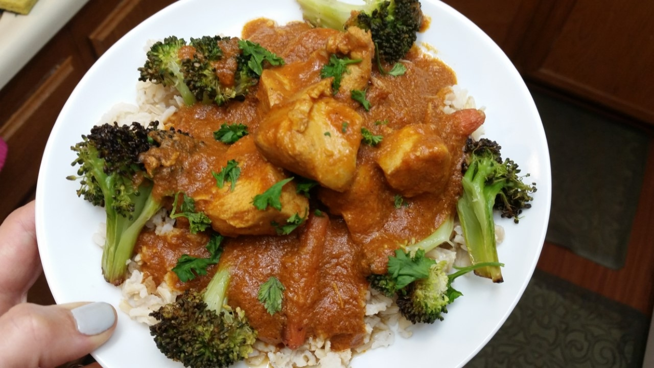 Indian Crock Pot Chicken 5 Minutes To Prep Healthy Delicious Dinner Youtube