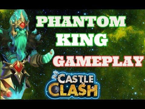 Castle Clash Phantom King Gameplay/Impressions!