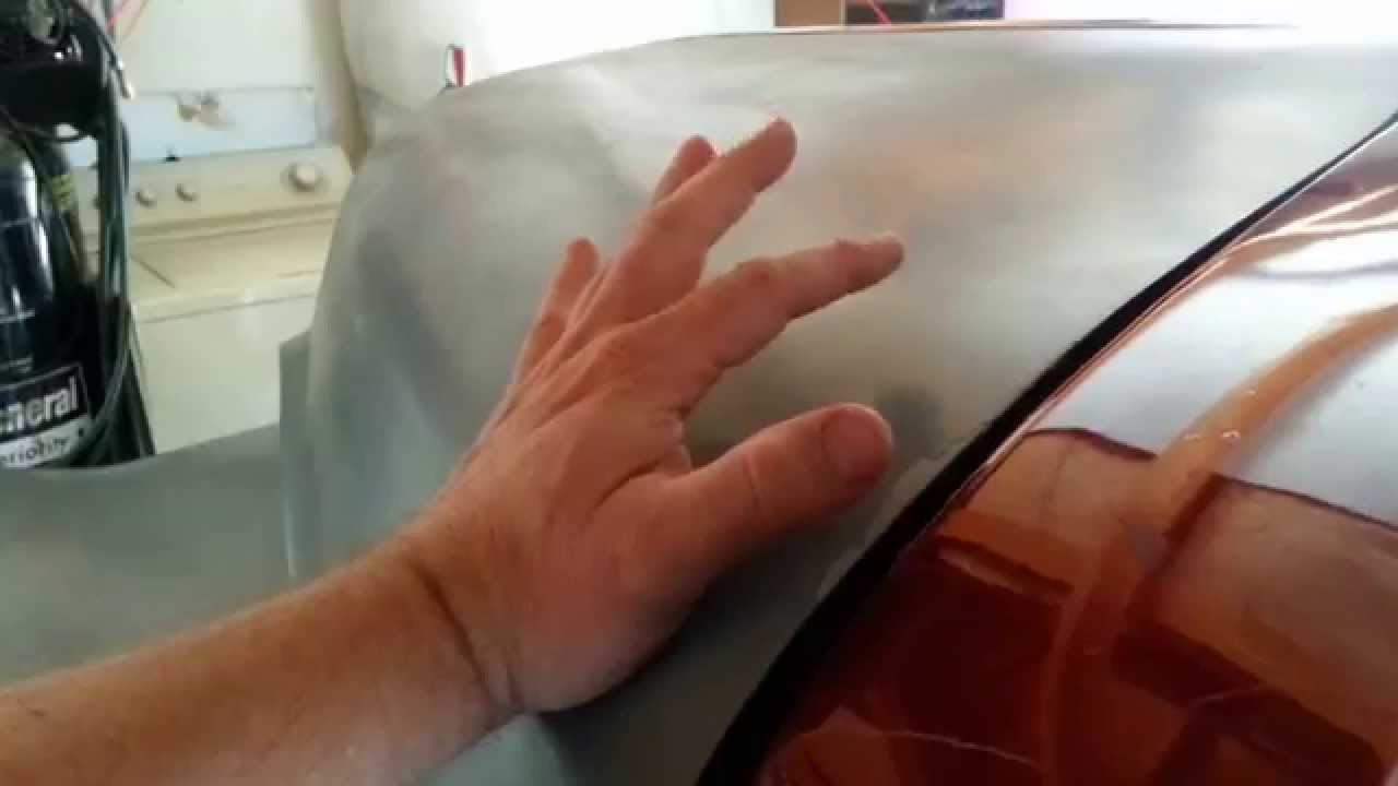 medium resolution of how i fit my hood on my 1951 chevy advance design pickup