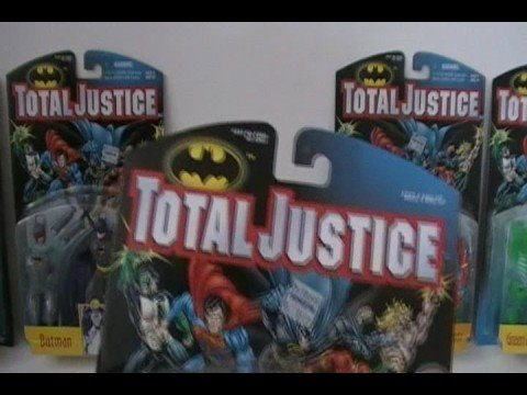 1996 Batman Total Justice (Lot 5) - Darkseid