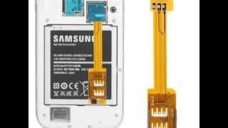 Адаптер на 2-3 SIM-карты.