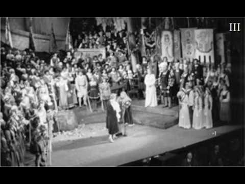 Wagner, Meistersinger Act III - Toscanini - Salzburg - 1936 (excerpts)