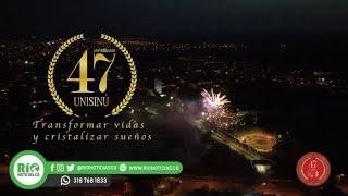 Con una velada especial, se conmemoraron los 47 años de Unisinú