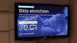 Google Chromecast Einrichten am PC und Smartphone