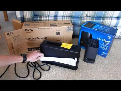 Vdr Vlog #7 - NAS Setup (Western Digital MyCloud EX2/APC BackUPS Pro 700VA)