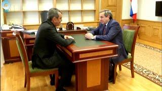 Владимир Городецкий и Сергей Меняйло обсудили ситуацию в регионе