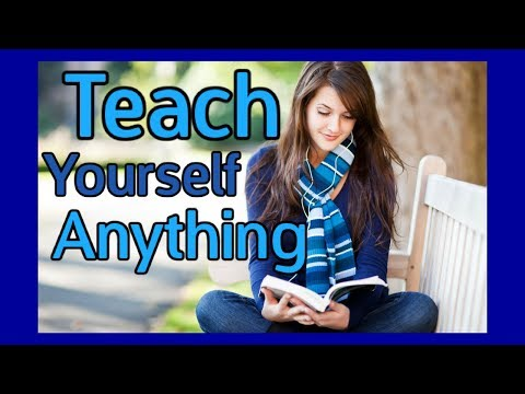 How to get started with Self Education
