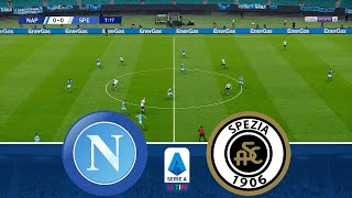 Serie a tim 2020/2021 - napoli vs spezia at stadio diego armando maradona.this is video realistic gameplay of efootball pes 2021 ps4 / pc steam game.thank ...