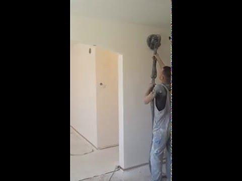 masinsko smirglanje zidova i plafona