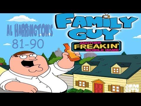 Family Guy - Another Freakin' Mobile Game: Al Harrington's 81-90
