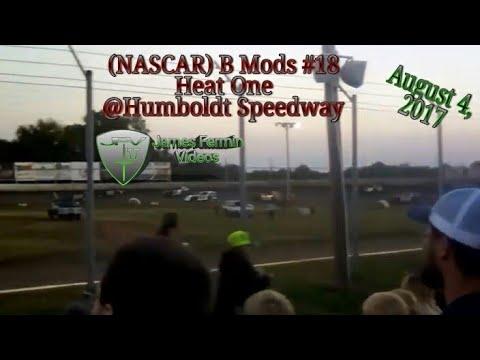 B Mods #18, Heat, Humboldt Speedway, 2017